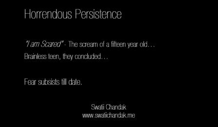Horrendous Persistence