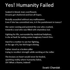 Humanity Failed?