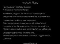 Innocent Reply