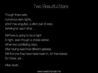 Two Beautiful Stars